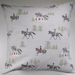 "Cushion Cover in Sophie Allport Horses 14"" 16"" 18"" 20"""